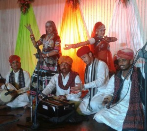 Wednesday evening entertainment with Desert dreams - The Rhythm of Rajastan